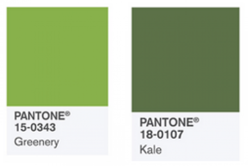 Lucky Us There Is Another Shade Of Green In The Pantone Palette Fashion Colors Spring 2017 Kale Which A Darker Tone More Into Military Khaki