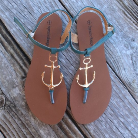 anchor sandals summer