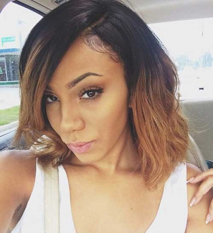 Long Bob Haircut for Black Women