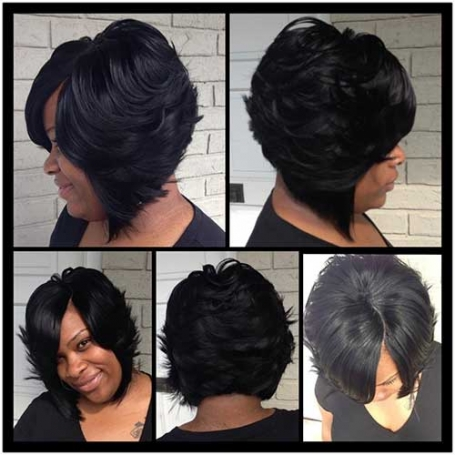 Long Bob Hairstyle for Black Women