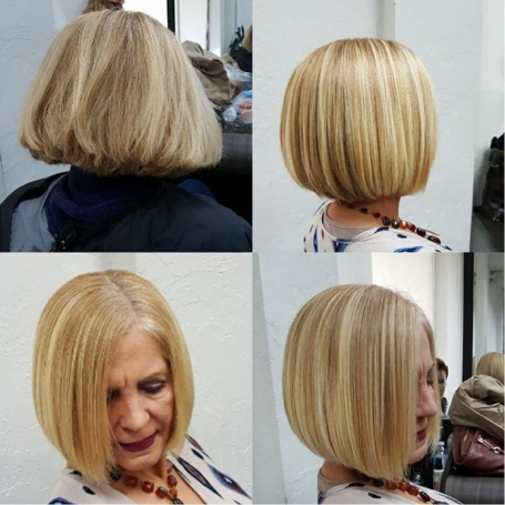 classic bob haircut for women over 50