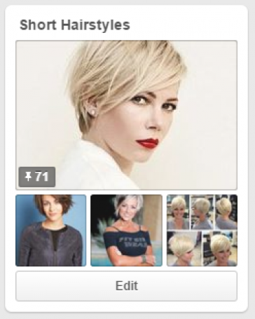pinterest board for short haircuts