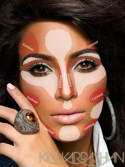 10 Best Kim Kardashian Makeup Tutorials