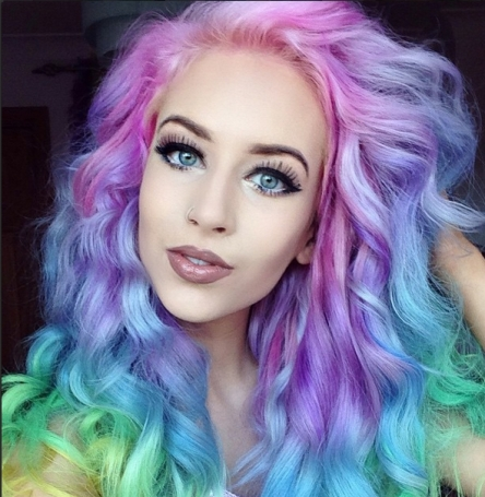 Unbelievable Hair Colour: Girls, You Are Gorgeous!