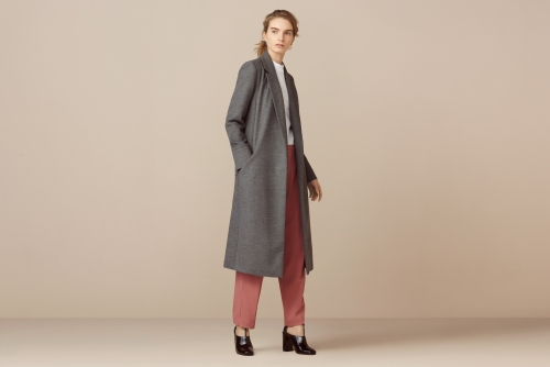 finery london belted soft touch coat