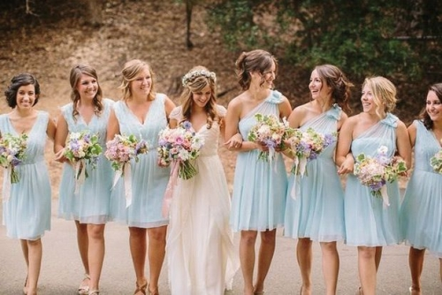 Again Time Of The Year Plays A Crucial Role For Choosing Fabric Bridesmaid Dresses Example Taffeta Are Worn During Cooler Month